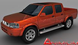 Nissan Frontier 3d model