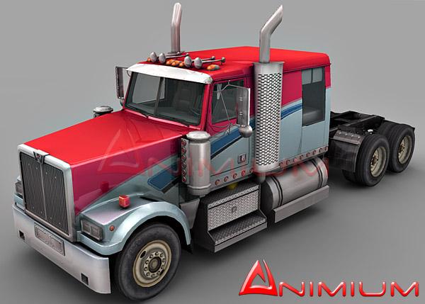 Western Star 4900 Lowmax truck