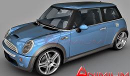 mini cooper free 3d model