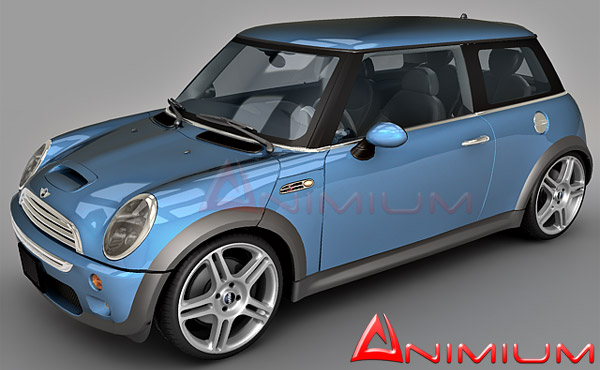 mini cooper free 3d models. Black Bedroom Furniture Sets. Home Design Ideas
