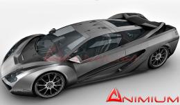 Nemixis concept car 3d model