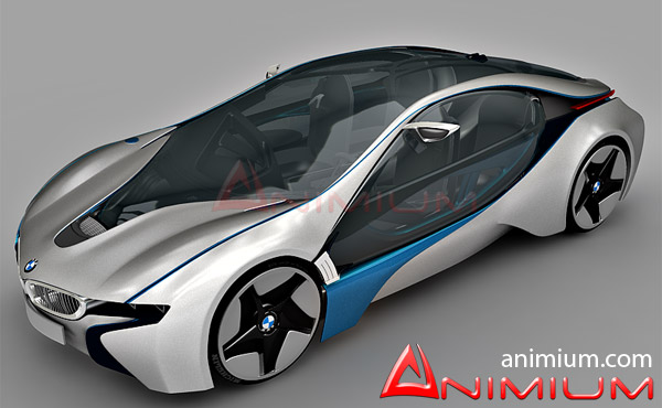 Bmw I8 Efficient Dynamics Free 3d Models