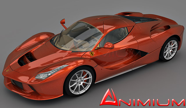 Ferrari Laferrari 3d Model Free 3d Models