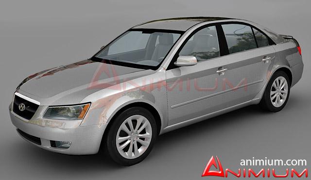 Hyundai Sonata - Free 3d models