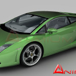 Lamborghini Gallardo LP560 3d model