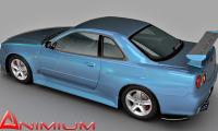 Nissan skyline 3d model
