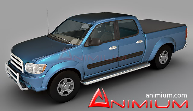 Toyota tundra 3d model – Animium 3D Models