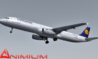 Airbus a321 lufthansa airlines