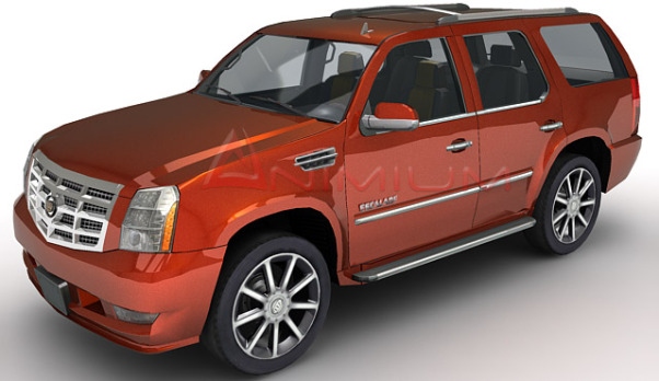 Cadillac escalade 3d car model