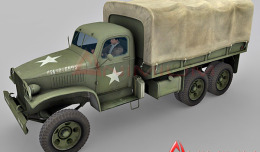 GMC CCKW Military truck