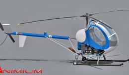 Huges 269C 3d model