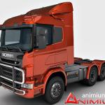 Scania R730 3d model