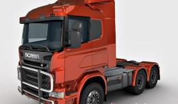 Scania R730 free 3d model