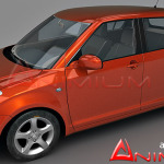 Suzuki Swift 3d model