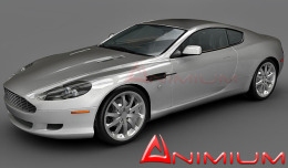Aston Martin DB9 3d model