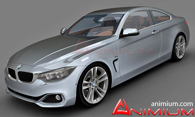 BMW Free D Models - Bmw 4 series models
