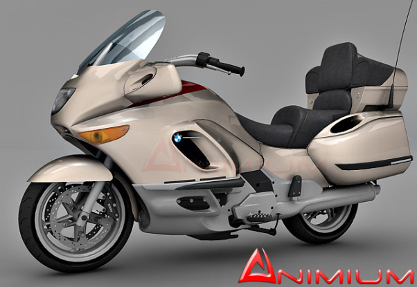BMW K1200LT Bike