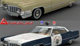 Cadillac Sedan deVille 3d model