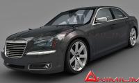 Chrysler 300C 3d model