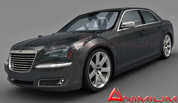 Chrysler 300C Hemi V8 3d model