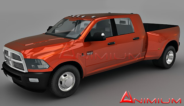 dodge ram 3500 free 3d models. Black Bedroom Furniture Sets. Home Design Ideas
