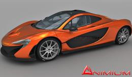 McLaren P1 3d model