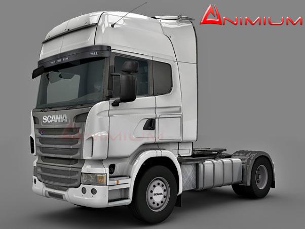 Scania R440 3d model