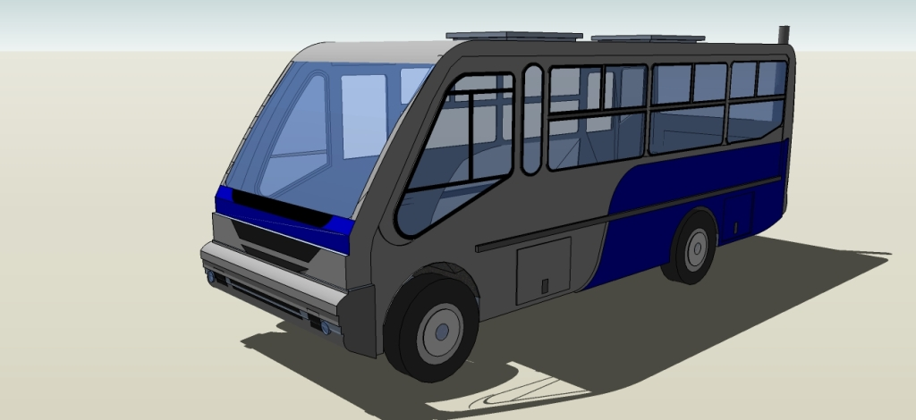 Taxi bus free 3d models taxibus 8va 3d model malvernweather Choice Image