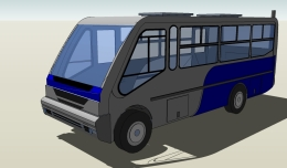 Taxibus 8Va 3d model