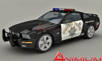 Mustang gt patrol 3d model