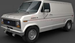 1975 Ford Econoline E150 3d model