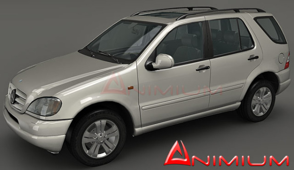 3dSkyHost: Mercedes Benz ML430 3d model