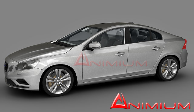 Volvo S60 – Animium 3D Models