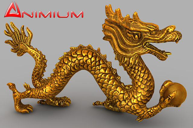 chinese dragon 3d model - photo #5