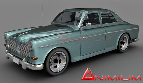 Volvo Amazon 3d model