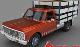 Chevrolet c30 3d model