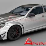 Mercedes-Benz C63 AMG 3d model