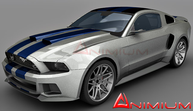Ford Mustang Gt D Model