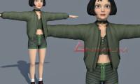 Mathilda CG Character for 3dsmax