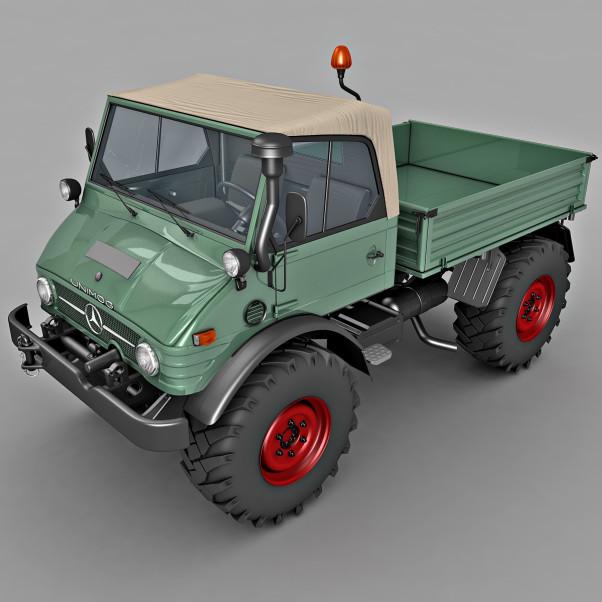 Benz Unimog 3d model