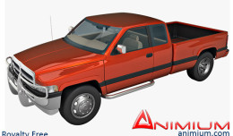 Dodge Ram 3d model