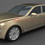 Bentley Mulsanne 3d model
