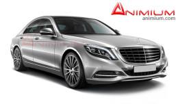 Benz s500 3d model