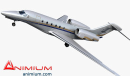 Cessna Citation X 3d model