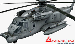 Sikorsky MH-53 Pave Low 3d model