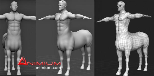 Centaur 3d model