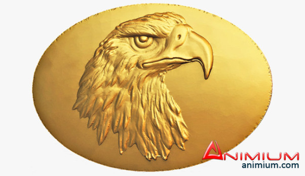 Eagle Head Medal