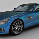 Mercedes Benz AMG GT S 3d model