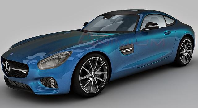 Mercedes benz amg gt s 3d model free 3d models for Mercedes benz s models