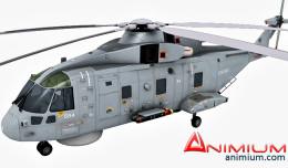 AugustaWestland AW101 3d model